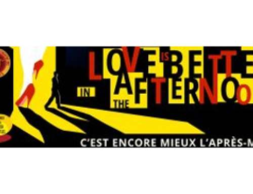 Love is better in the afternoon starts 6 September